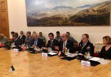 Reunião em Paris dos Ministros da Defesa da 'iniciativa 5+5 Defesa'