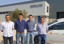 Responsáveis das empresas EPALFER e SunEnergy