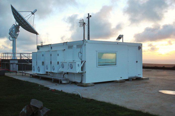 Estação da ESA em Santa Maria, nos Açores
