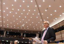 Jean-Claude Juncker, Presidente da CE, presenta o Livro Branco sobre o Futuro da Europa no Parlamento Europeu