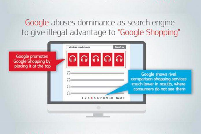 Google viola leis antitrust da União Europeia