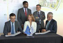 Assinatura do empréstimo do BEI à Nova SBE