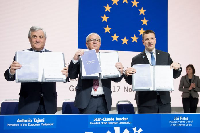 Jean-Claude Juncker, Stefan Lofven, Antonio Tajani
