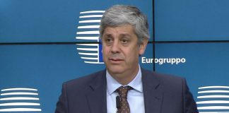 Mário Centeno, presidente eleito do Eurogrupo