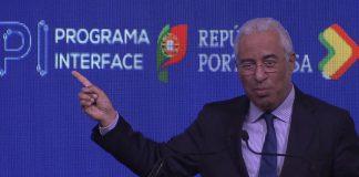 Primeiro-Ministro António Costa na apresentação do Programa Interface
