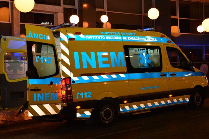Ambulância do INEM,112