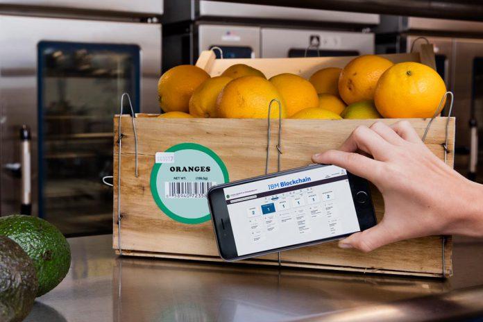 Aplicação da 'IBM Blockchain' na cadeia alimentar