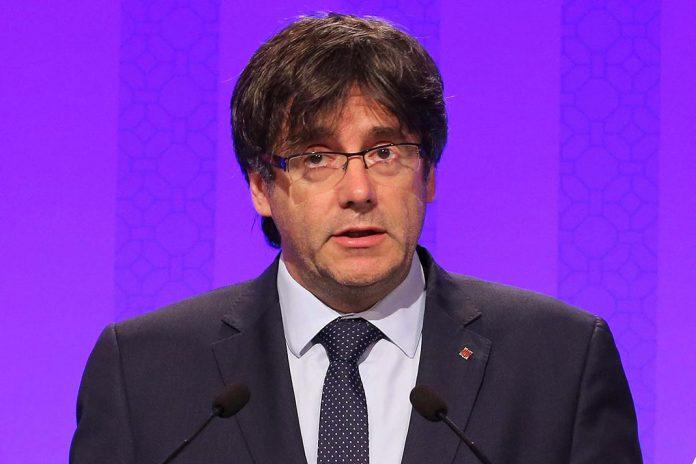 Presidente do Governo Autónomo da Catalunha, Carles Puigdemont