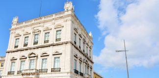 Ministério das Finanças, em Lisboa