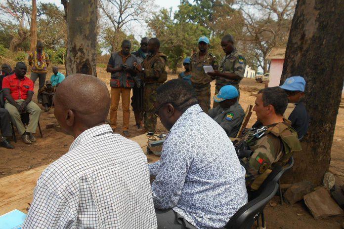 Capacetes azuis na República Centro-Africana