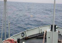 NRP Cisne deteta fardo de droga