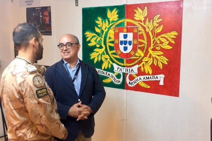 Ministro da Defesa Nacional visita militares portugueses no Iraque