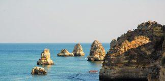 Oceano Atlântico, costa do Algarve
