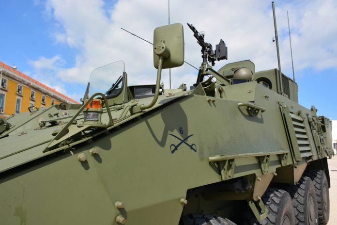 Veículo militar do Exército português