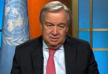 António Guterres quer '2017 ano para a Paz'