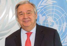Secretário-geral das Nações Unidas, António Guterres
