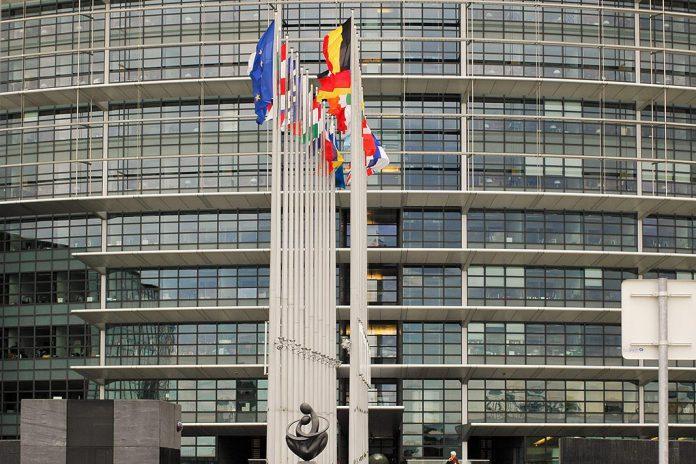 Edifício do Parlamento Europeu em Estrasburgo