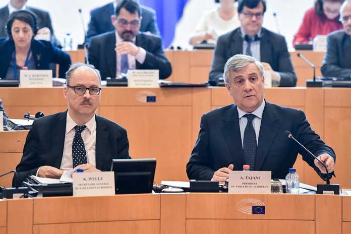 Conferência extraordinária dos Presidentes do PE na sequência da ativação do artigo 50.º pelo Governo do Reino Unido.