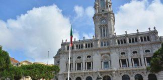 Içar da Bandeira, Avenida dos Aliados, Porto, Dia de Portugal