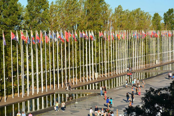 Parque das Nações, em Lisboa