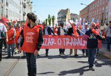 Manifestação da CGTP, 1º de maio, em Lisboa