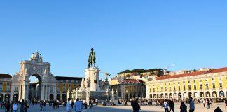 Praça do Comércio, em Lisboa