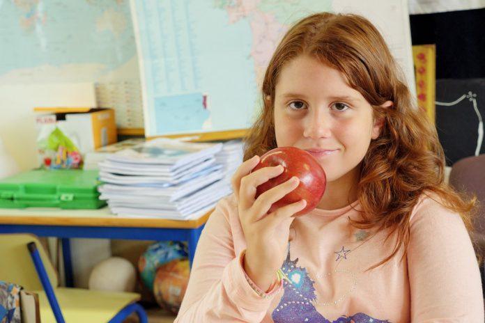 Consumo de fruta pelas crianças