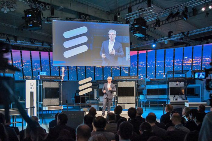 Börje Ekholm, Presidente e CEO da Ericsson, no Mobile World Congress 2017