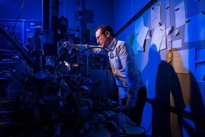 Cientistas no Laboratório da IBM