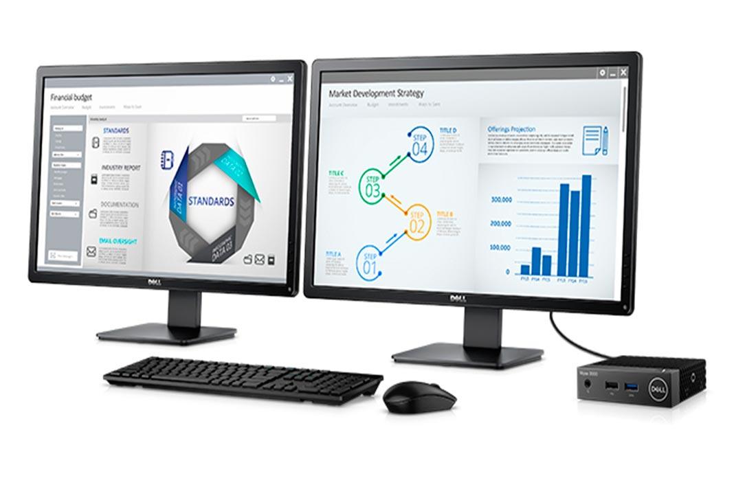 Dell revelou o Thin Client mais leve, pequeno e eficiente, o