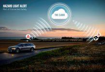 Volvo com partilha de dados entre veículos