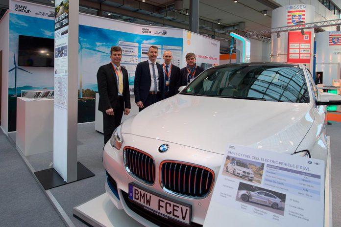 BMW Série 5 GT em exibição em Hanôver