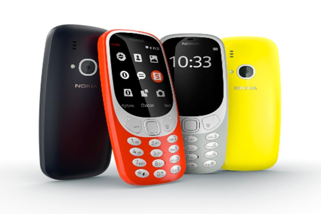 Nokia 3310 disponível em Portugal.