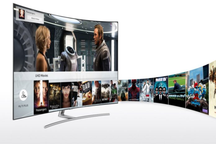 Samsung Smart TV com TV Plus