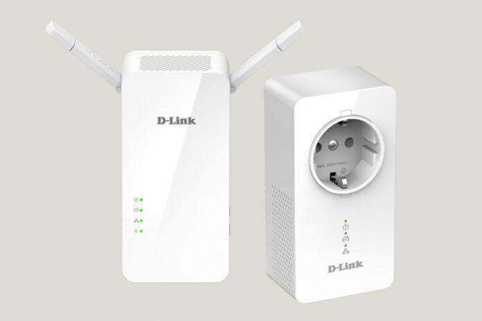 'Kit PLC Powerline DHP-W611AV' da D-Link