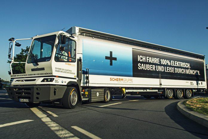 Camião elétrico da BMW