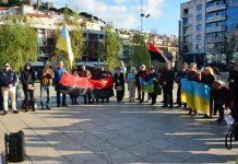 Ucranianos manifestam-se em Lisboa