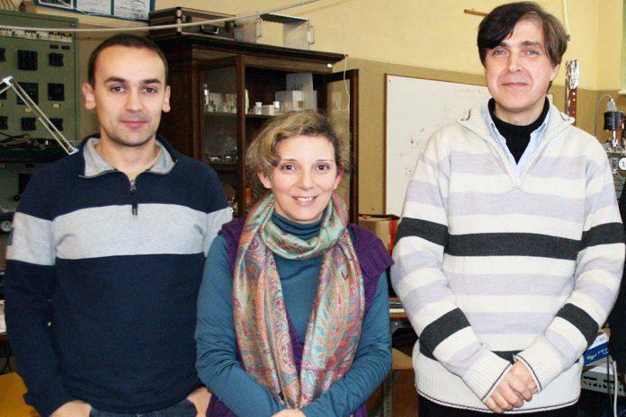 Investigadores do LIbPhys, da esquerda para a direita: Fernando Amaro, Cristina Monteiro, Joaquim Santos.
