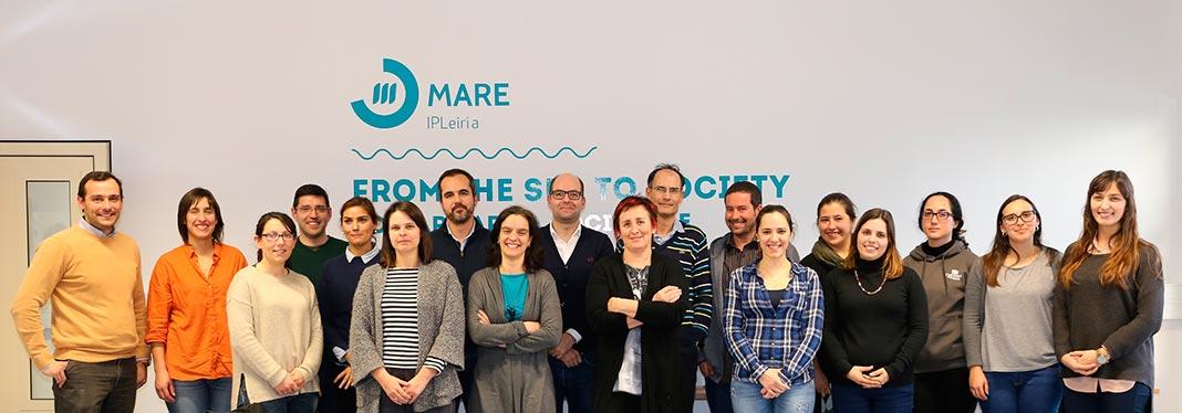 Equipa de Investigadores do MARE-IPLeiria