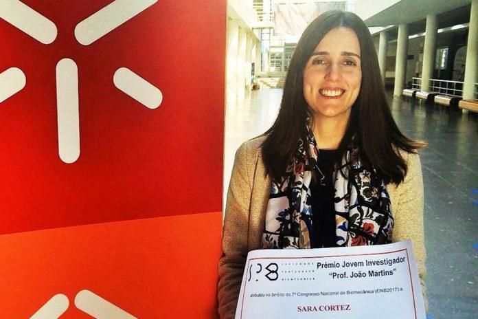 Sara Cortez, prémio 'Jovem Investigador Prof. João Martins'