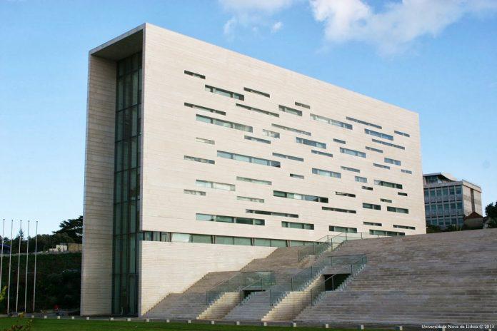 Edifício da reitoria da Universidade Nova de Lisboa