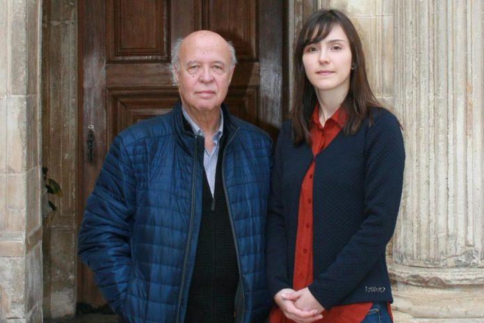 José Pinto Gouveia e Ana Xavier, investigadores da UC, (da esquerda para a direita)