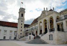 Edificio da Universidade de Coimbra, património mundial