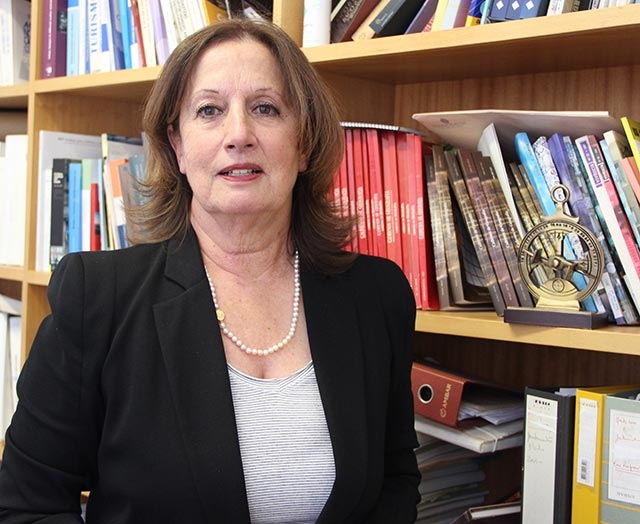 Fernanda Cravidão, coordenadora da Cátedra UNESCO e da Rede UNESCO UNITWIN na Universidade de Coimbra