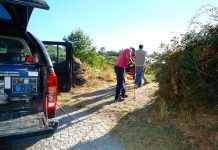 Equipa de investigadores faz medições de Radão no solo