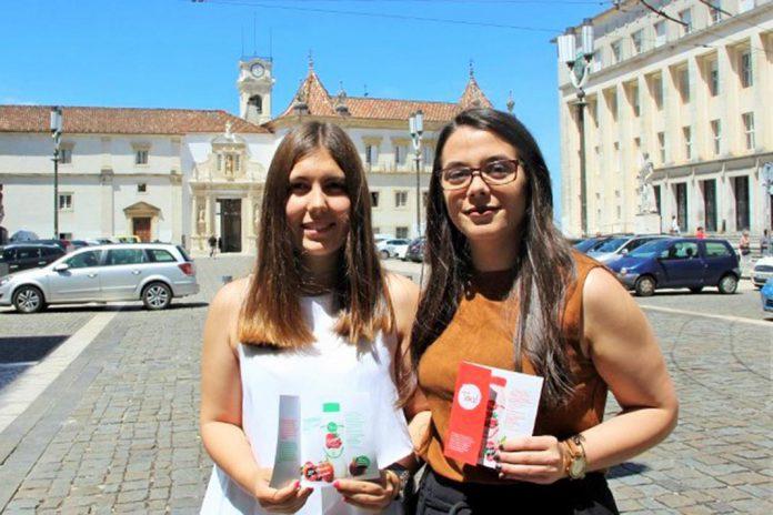 Rita Martins e Daniela Costa criadoras das 'Toal', Universidade de Coimbra