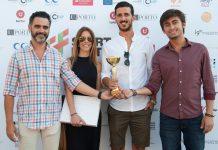 Paulo Barbosa, Raquel Nunes, Renato Pratas e Luciano Júnior, (esquerda para a direita), da Facestore vencedora Startup 2017