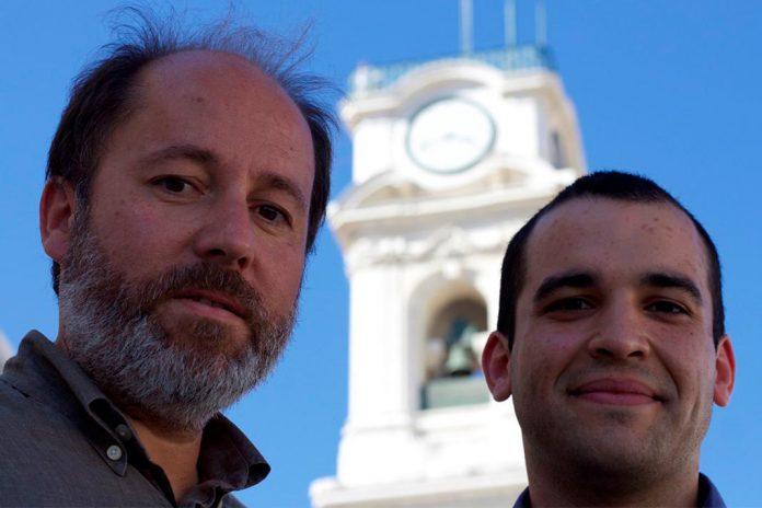 Investigadores Gabriel Falcão e Pedro Duarte