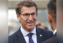 Presidente da Junta Regional da Galiza, Alberto Núñez Feijóo