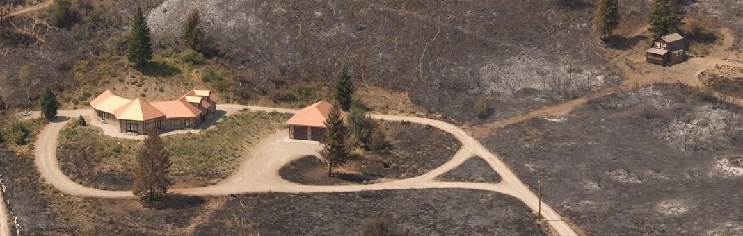 Limpeza de prevenção contra incêndios